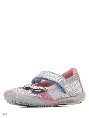 Туфли S.OLIVER. Цвет: серебристый, розовый