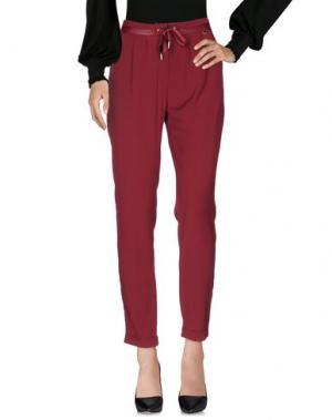 Повседневные брюки MORGAN DE TOI. Цвет: красно-коричневый