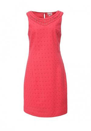 Платье Indiano Natural. Цвет: розовый