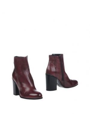 Полусапоги и высокие ботинки ELIANA BUCCI. Цвет: баклажанный