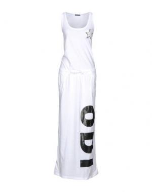Длинное платье ODI ET AMO. Цвет: белый