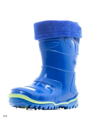 Резиновые сапоги Дюна. Цвет: синий