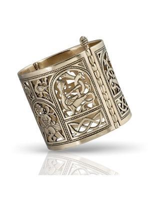 Створчатый браслет Символ плодородия Balalaika. Цвет: бронзовый