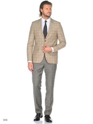Пиджак BAWER. Цвет: коричневый