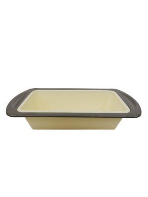 Форма для выпечки силикон 8,5*20*4 см Peterhof. Цвет: бежевый