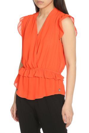 Блузка Scotch&Soda. Цвет: orange, оранжевый