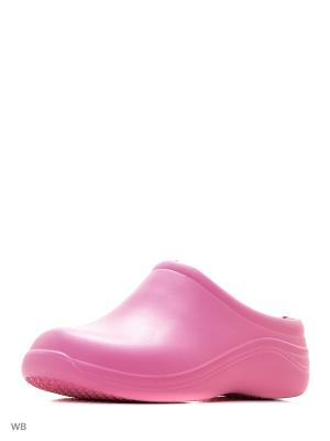 Галоши ANRA. Цвет: розовый