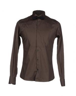 Pубашка MNML COUTURE. Цвет: зеленый-милитари