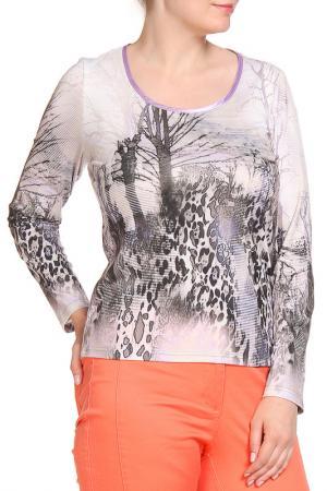 Блуза SARAH KERN. Цвет: цветной
