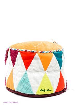 Игрушка-пуф Цирк Lilliputiens. Цвет: оранжевый, желтый, белый, зеленый, коралловый