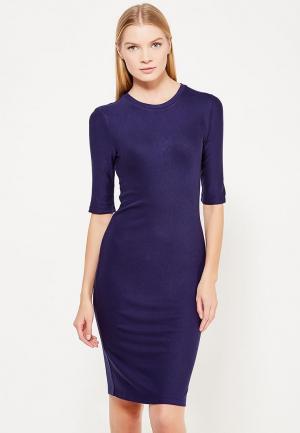 Платье Armani Exchange. Цвет: синий