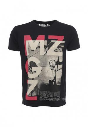 Футболка MeZaGuz. Цвет: черный