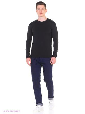 Лонгслив Olbia, slim fit Alan Red. Цвет: черный