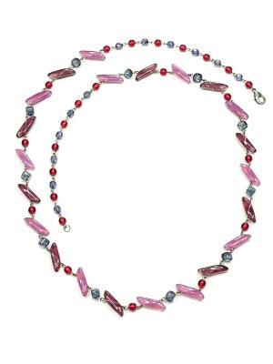 Ожерелье Bohemia Style. Цвет: фиолетовый