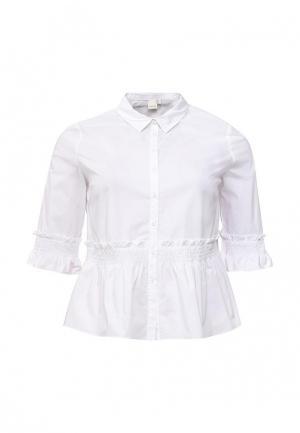 Блуза LOST INK PLUS. Цвет: белый
