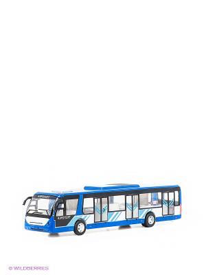 Автобус Технопарк. Цвет: синий, голубой, белый