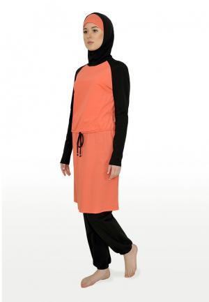 Купальник Hayat. Цвет: оранжевый