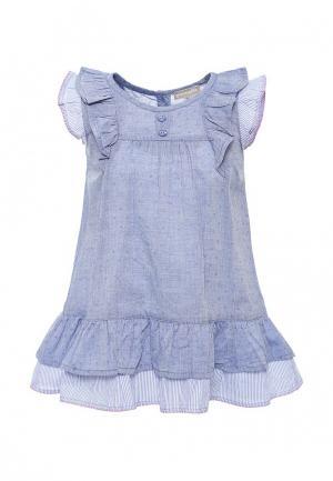 Платье Z Generation. Цвет: голубой