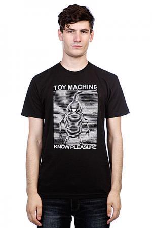 Футболка  Toy Division Black Machine. Цвет: черный