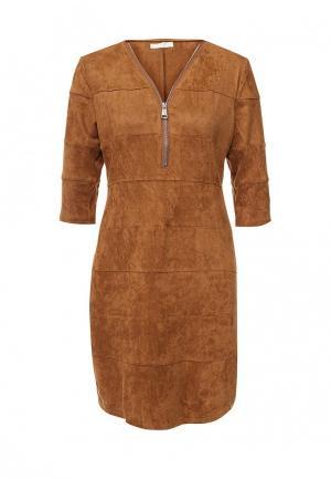 Платье Coco Nut. Цвет: коричневый