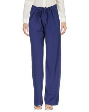 Повседневные брюки BAGUTTA. Цвет: темно-синий