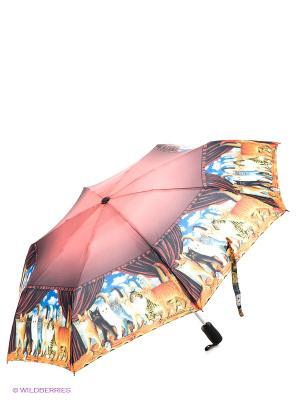 Зонт Eleganzza. Цвет: синий, коричневый, желтый
