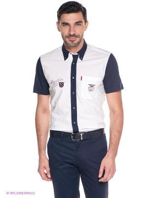 Рубашка Sail Exp. Цвет: белый, темно-синий