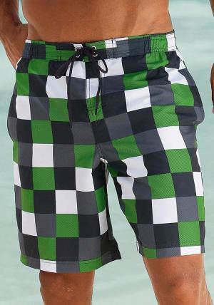 Пляжные шорты Otto. Цвет: зеленый