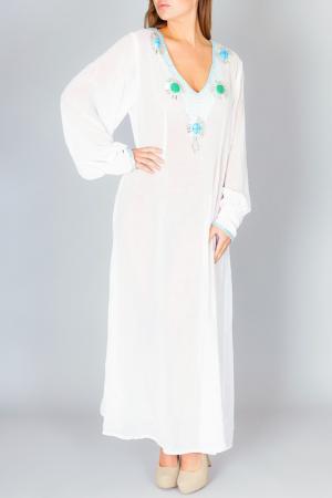 Платье Faust. Цвет: белый