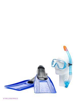 Плавательный набор Intex. Цвет: голубой, прозрачный, синий