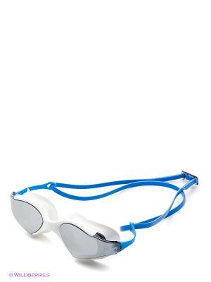 Очки плавательные S53UV Larsen. Цвет: синий, белый