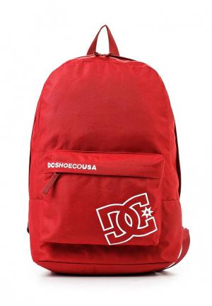 Рюкзак DC Shoes. Цвет: красный