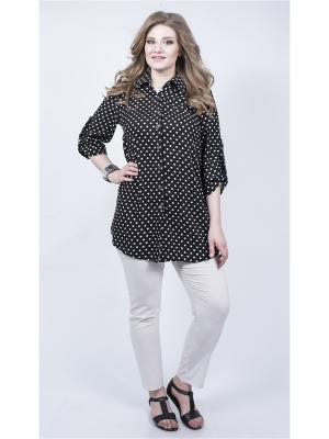 Блузка SPARADA. Цвет: черный