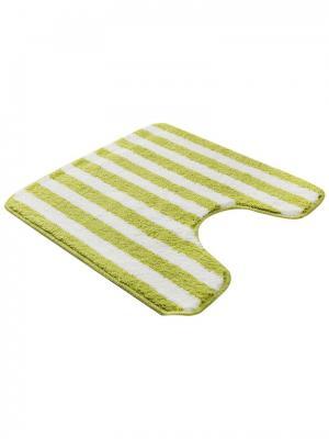 Коврик для ванной 50х50см bm-mf-d5/1-1 Cite Marilou. Цвет: белый, желтый