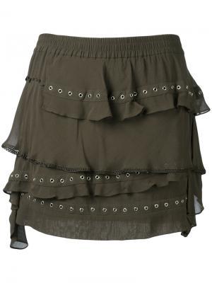 Shelan skirt Iro. Цвет: зелёный