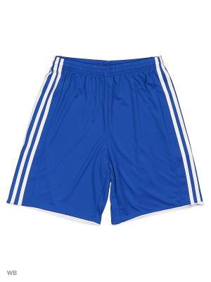 Спортивные шорты (трикотаж) дет. TASTIGO17 SHO Y BOBLUE/WHITE Adidas. Цвет: синий