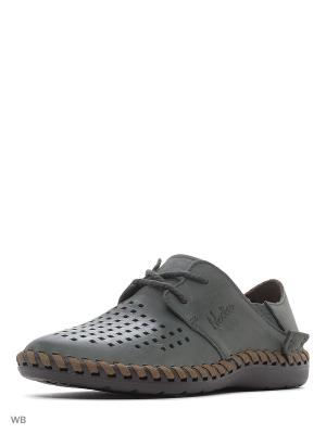 Туфли Nexpero. Цвет: серо-зеленый