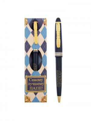Ручка шариковая Bizon. Цвет: синий