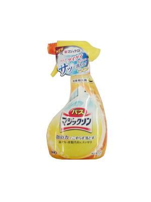 Спрей-пенка для ванной с ароматом лимона КАО. Цвет: желтый