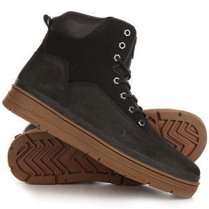 Ботинки высокие  State Sport Black Gum K1X. Цвет: черный