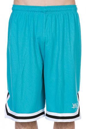 Шорты  Hardwood Double X Shorts Aqua/White K1X. Цвет: голубой