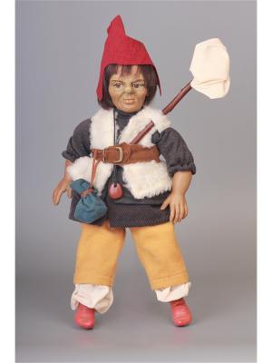 Кукла Teix-защитник природы ,культуры Lamagik S.L. Цвет: бежевый, красный, коричневый