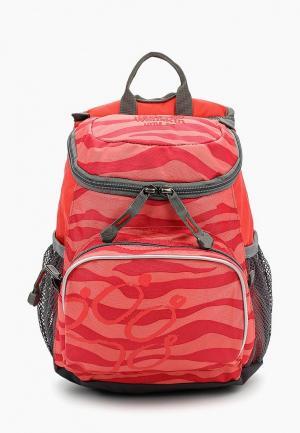 Рюкзак Jack Wolfskin. Цвет: коралловый