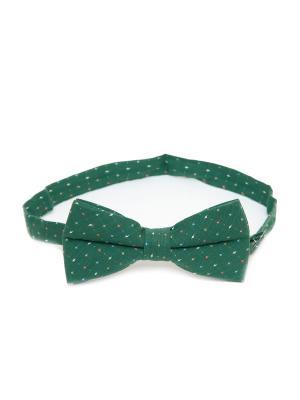 Галстук-бабочка Churchill accessories. Цвет: зеленый, белый, оливковый, светло-зеленый, хаки