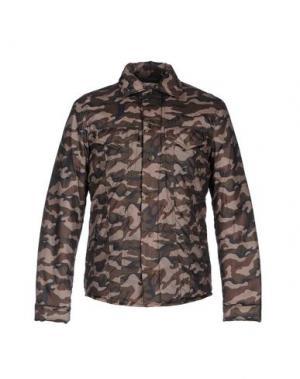 Куртка CYCLE. Цвет: зеленый-милитари