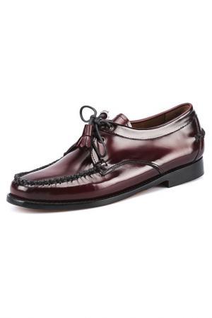 Ботинки G.H. BASS. Цвет: красный