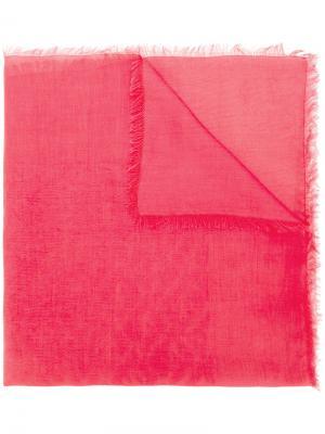 Платок с логотипом Fendi. Цвет: розовый и фиолетовый