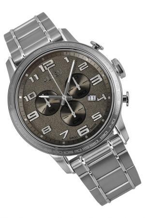 Часы Alfex. Цвет: серебряный