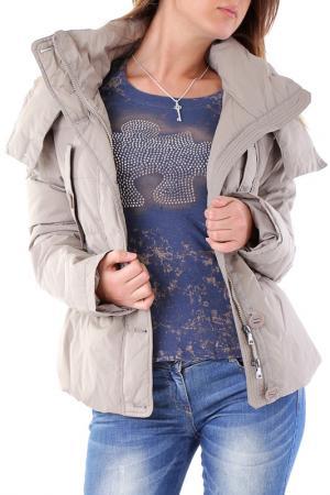 Куртка Cristina Gavioli. Цвет: бежевый