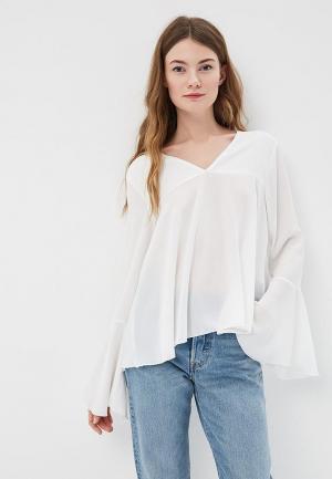 Блуза Massimiliano Bini. Цвет: белый